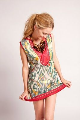 Bright colors! That's what's missing from so many RTW spring collections this year...