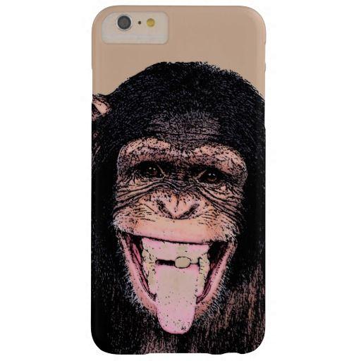 Pop Art Chimpanzee Sticking Tongue Out