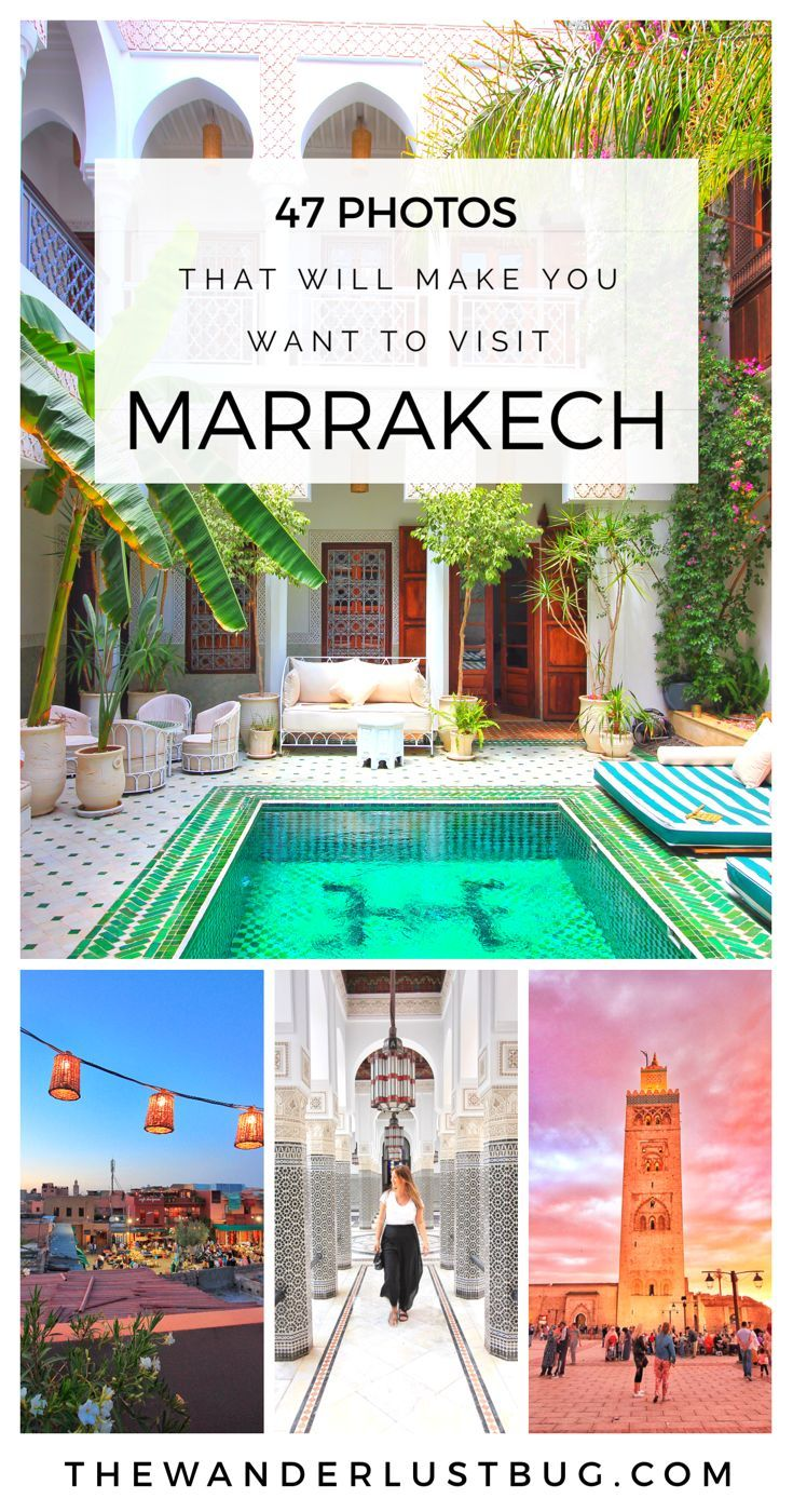 Love exploring new, instagrammable places? Then Marrakech is for you my friend. These 47 photos will make you want to book flights right now. Featuring the medina, Jemaa el-Fnaa, Le Grand Balcon Cafe Glacier, La Mamounia Hotel, Bahia Palace, Le Jardin, Ben Youssef Madrasa, Jardin Majorelle, Tanneries, Le Riad Yasmine, The Henna Cafe, Koutoubia Mosque, Cafe Kif Kif, Essaouira, Camels, The Famous Goats On Trees & Nomad Rooftop Restaurant.