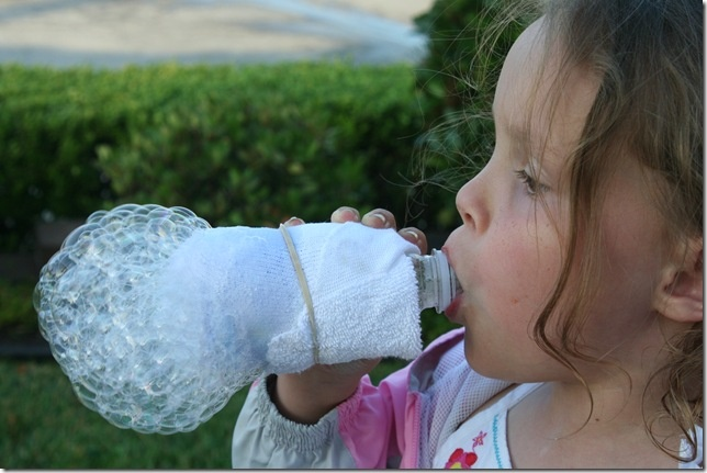 Pin by michelle tribby on homeschool pinterest for How to make a bubble blower from a water bottle