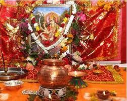 How to do by Vinod: Navratri Puja Vidhi Hindi Method with Ghatasthapan...