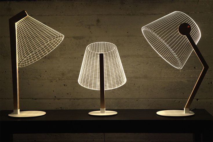 These Lamps Are An Optical Illusion