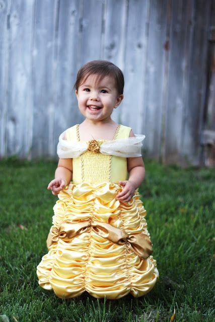 Adorable Belle Dress Pattern +20 More Free Disney Princess Costume Patterns and Tutorials