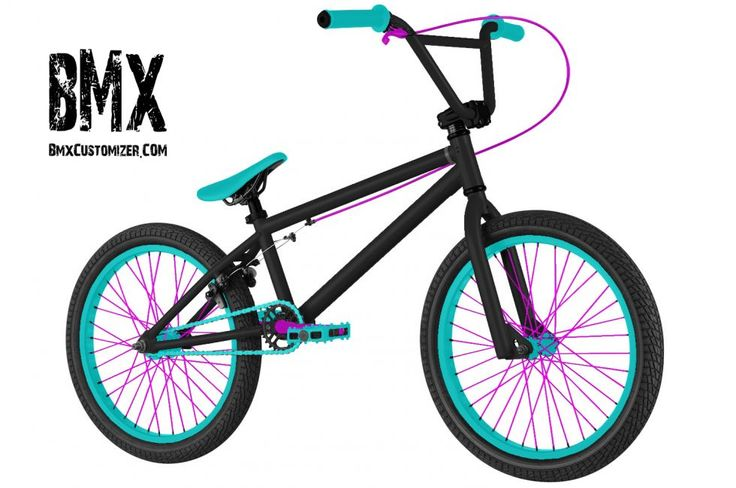 Design your own custom BMX bike: BmxCustomizer.com