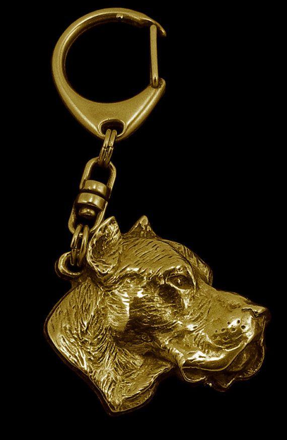 Dogo Argentino millesimal fineness 999 dog by ArtDogshopcenter