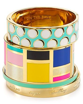 kate spade new york Be Art and Part Of Idiom Cuff | Bloomingdale's #BloomingdalesProm