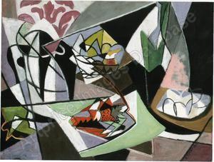 «Langouste sur papier vert», 1948, 61x46, prix aux enchères de Gino SEVERINI, 90.000€