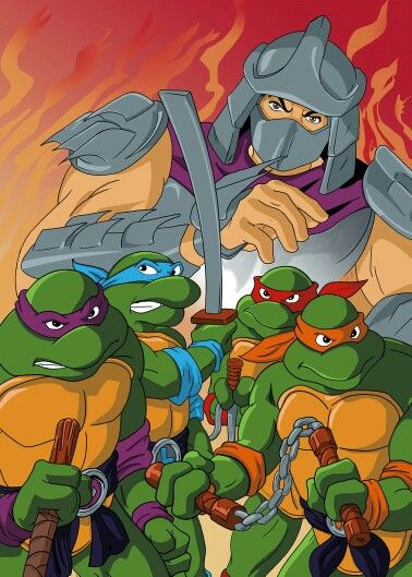 On this day, December 14th 1987, Teenage Mutant Ninja Turtles aired for the first time in cartoon history