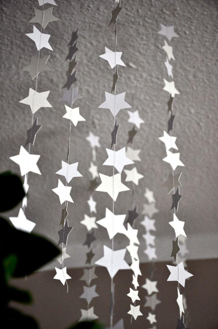 Ber ideen zu weihnachtsgirlande auf pinterest - Weihnachtsgirlande basteln ...