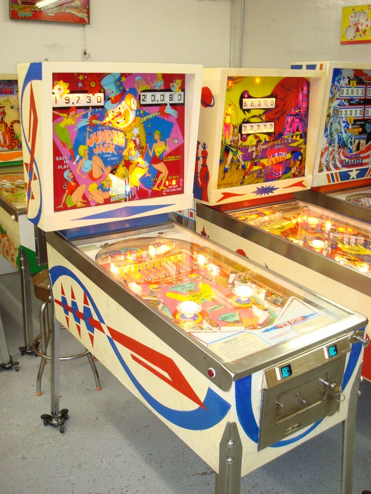 Looking for Vintage Pinball machines for sale, classic