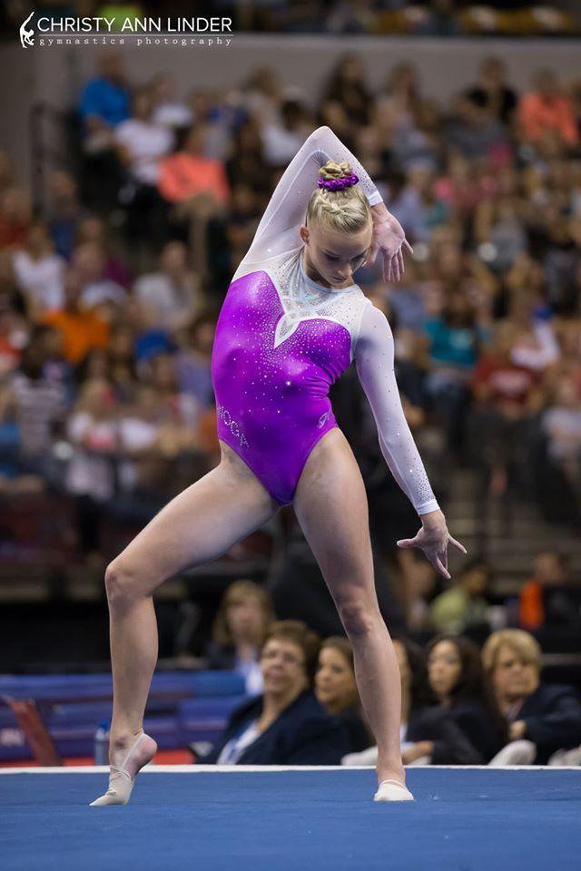 2014 World Champion Alyssa Baumann Usa Gymnastics