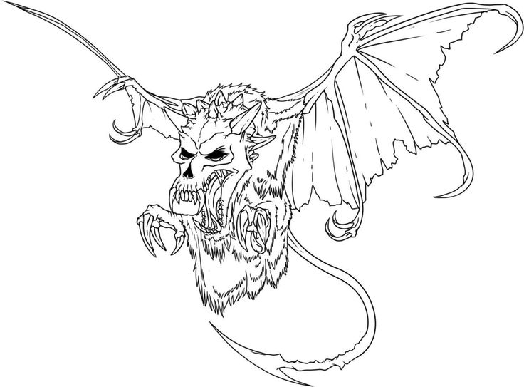 Scary Dragon Coloring Pages Funny New Collections