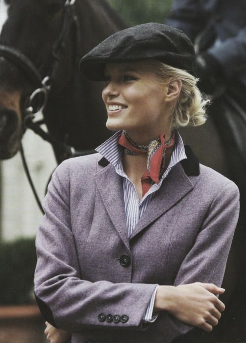 equestrian style..