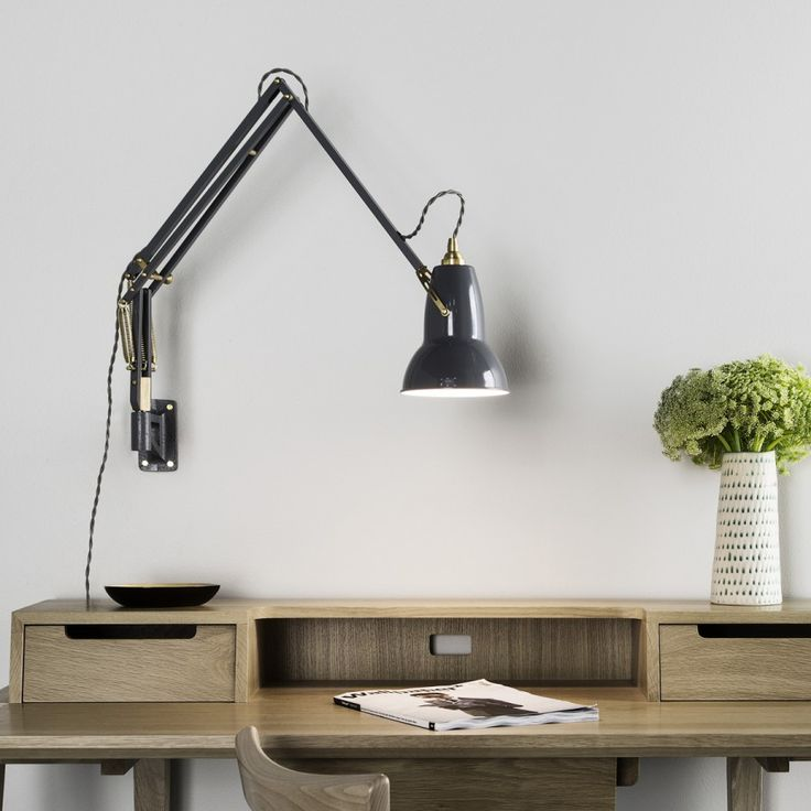 Original 1227 Brass Wall Mounted Lamp | Anglepoise