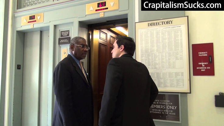 Another Crapitalist Takedown: Watch Jason Mattera Confront Rep. Greg Meeks on His Multitude of Scandals