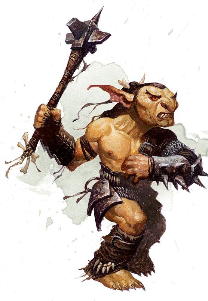 Fantasy Goblin Art Greatsword
