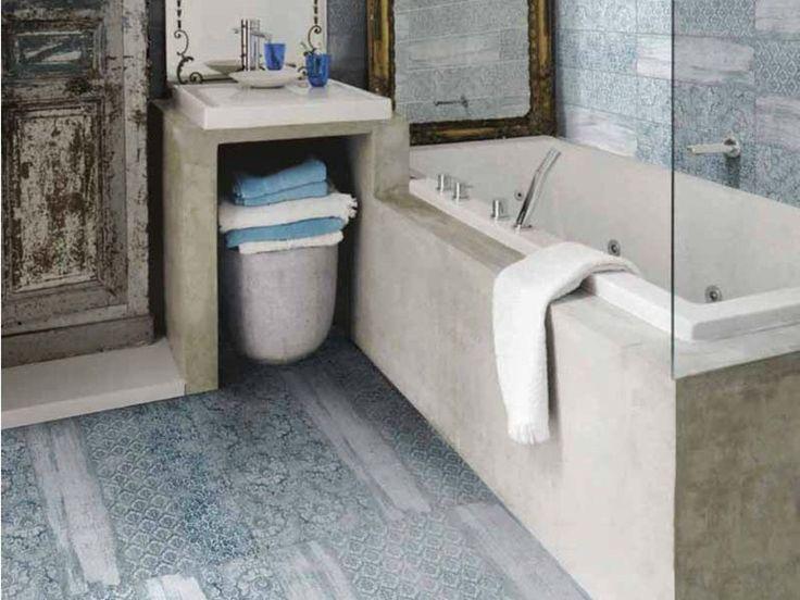 Pavimento/rivestimento in gres porcellanato RESINE AZZURRO - Unica by Target studio