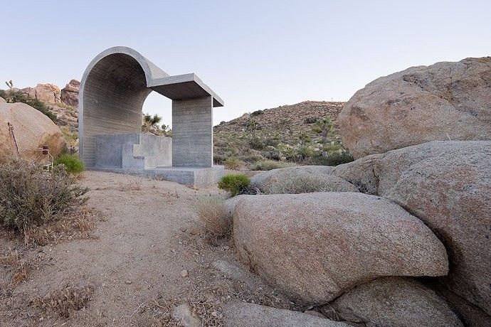 Obscured Horizon by Arata Isozaki Joshua Tree – USA For Domus 947 – Between heaven and earth Text Peter Zellner