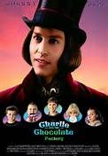 Charlie and the Chocolate Factory (2005). Starring: Johnny Depp, Freddie Highmore, Julia Winter, Annasophia Robb, David Kelly, Helena Bonham Carter, Jordan Fry, Philip Wiegratz, Noah Taylor, James Fox, Missi Pyle and Christopher Lee