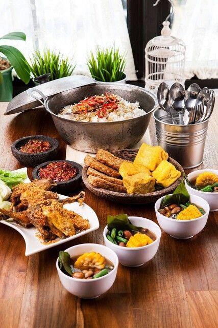 Nasi Liwet Peda - Original Sundanese Food