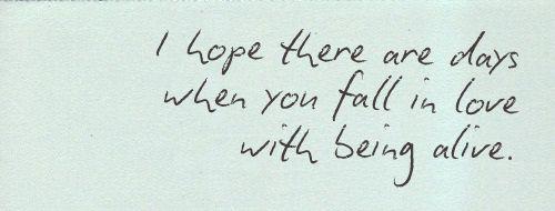 und am Ende war's doch eine lebenslange Liebesgeschichte