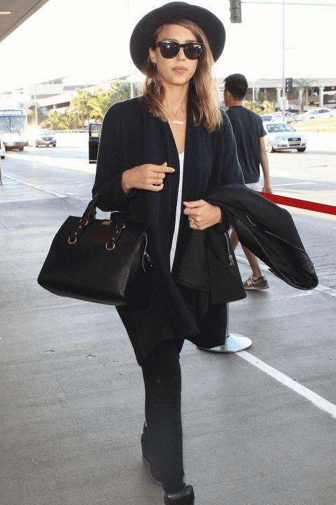 Off-Duty Hiresség Stilus: Jessica Alba