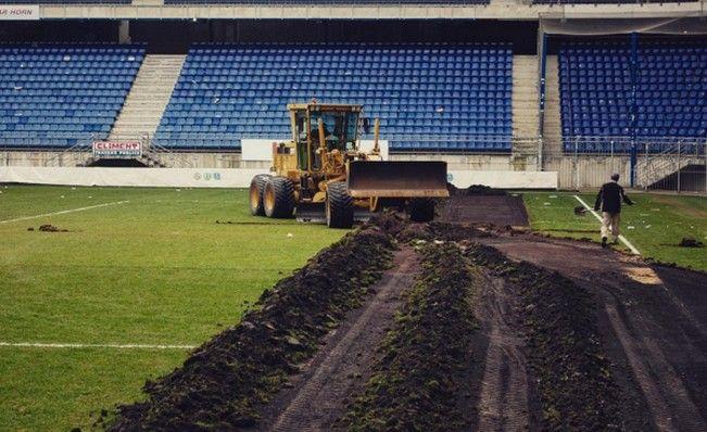 La pelouse du Stade Bonal va être changée