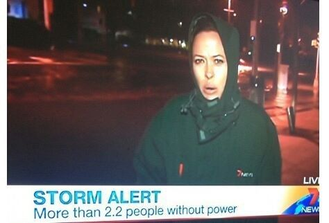 Or when they alerted us to the storm affecting MORE THAN 2.2 PEOPLE!   17 Times Australian News Was Too Much To Handle