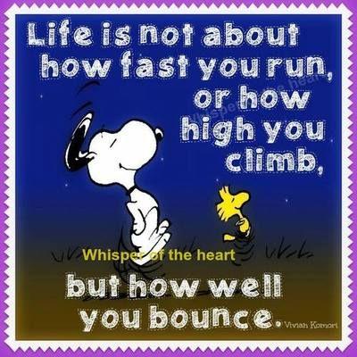 Bounce well. (Bound, bound, bound and rebound)