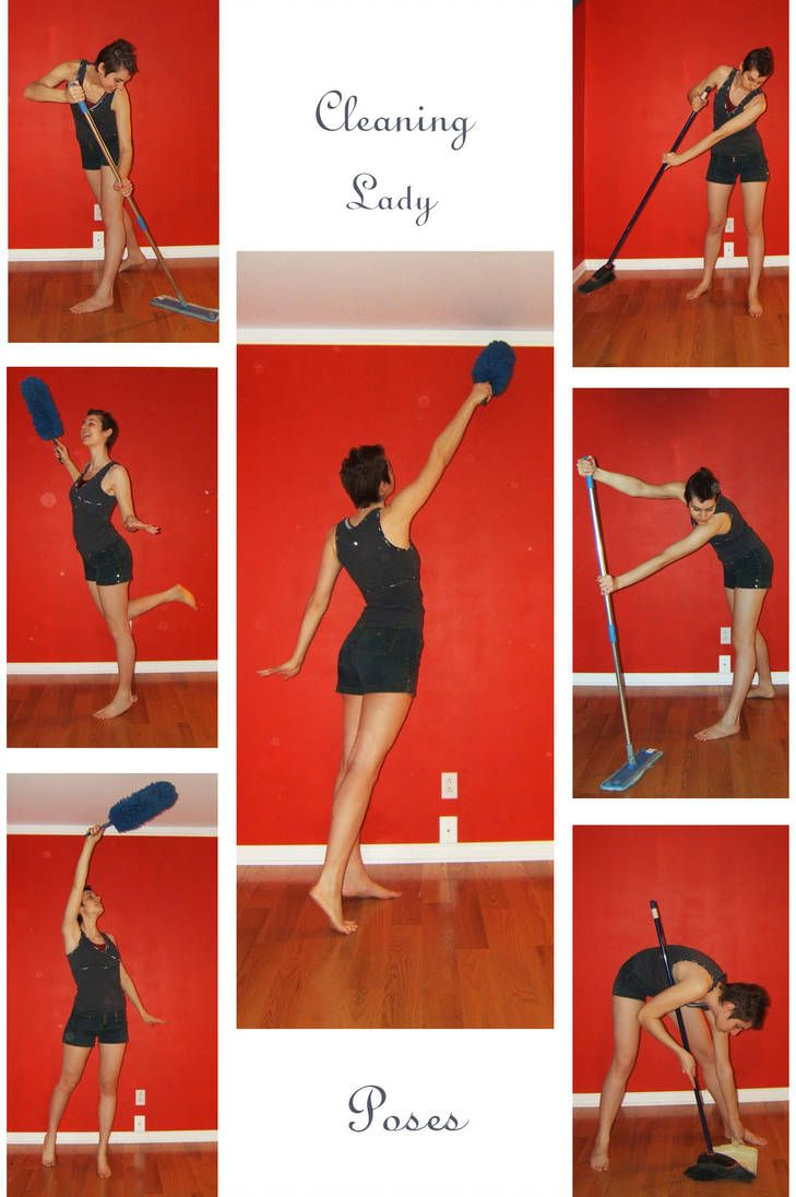 Stock Cleaning Lady By Lalunatique Human Poses Reference Pose Reference Pose Reference Photo