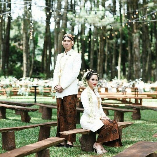 """Andie's wedding """"Jawa Kolonial"""""""