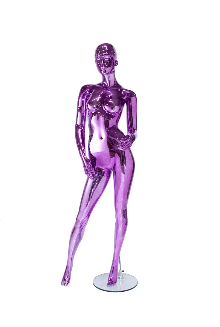 Looking For Chrome Mannequins Check Out These Girls In