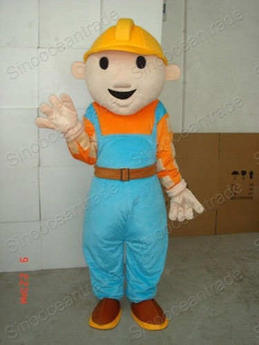 Adult Bob The Builder Costume 105
