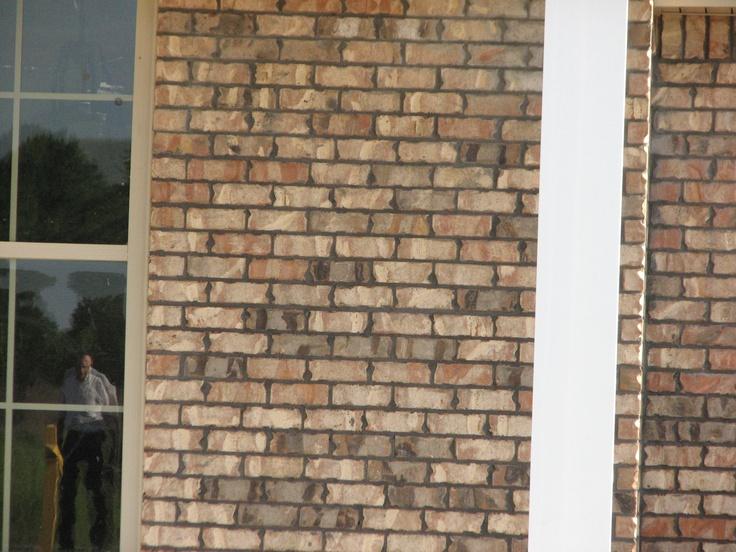 I love this brick boral alamo with ultra dark mortar for Boral brick veneer