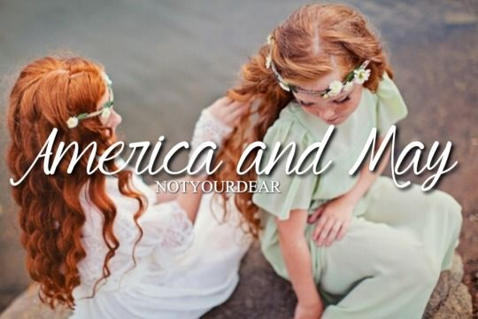America and May Singer<3