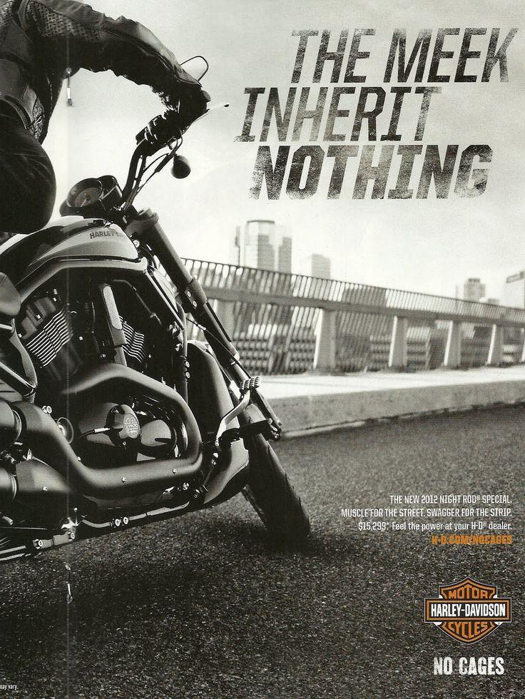 Harley Davidson Advertising: 211 Best Harley Ads We Love Images On Pinterest