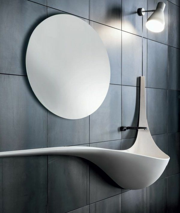 Moderne Waschbecken lassen das Badezimmer zeitgenössischer aussehen - http://freshideen.com/badezimmer-ideen/moderne-waschbecken.html