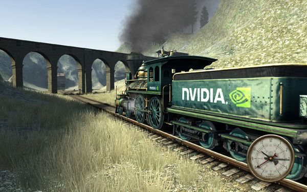 Télécharger Western Railway - dition NVIDIA Screensaver | NVIDIA Cool Stuff