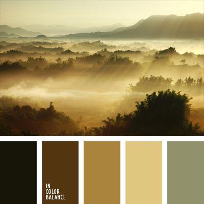 beige, color azul niebla, color marrón verdoso, color verde grisáceo, colores de…