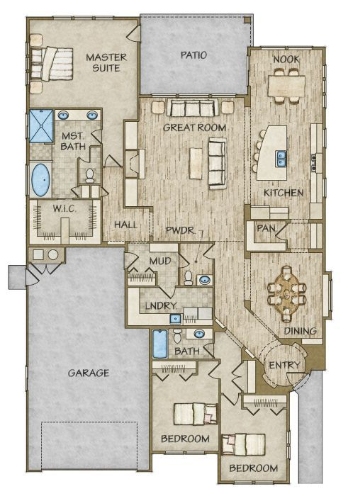 20362 best planos images on pinterest house floor plans house floor plan details todd campbell construction house blueprintscrosswordfloor malvernweather Images