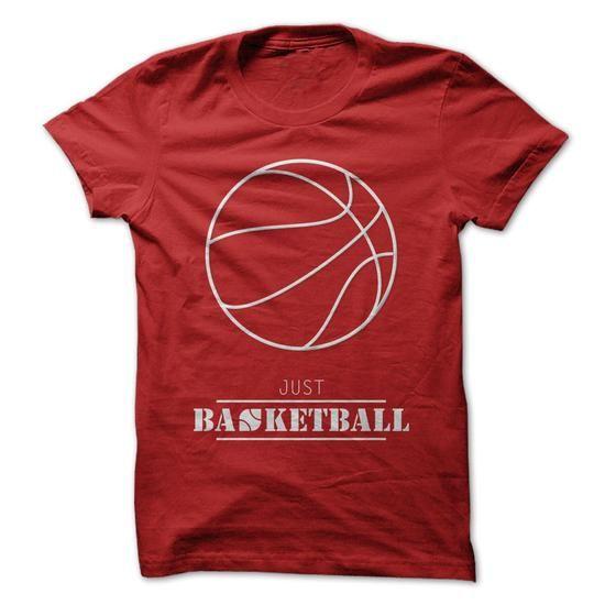 just basketball - #tshirt #tshirt jeans. LOWEST SHIPPING: => https://www.sunfrog.com/Sports/just-basketball.html?60505