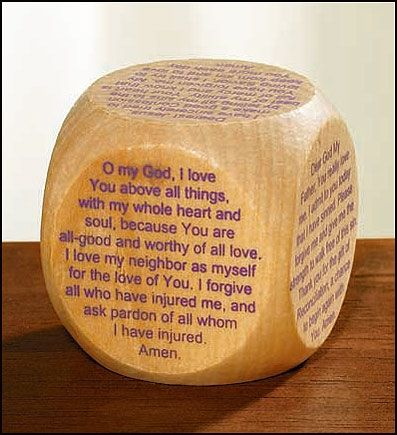 ERC KA04628 - Reconciliation Prayer Cube