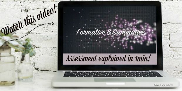 Formative and Summative Assessment Saved you a Spot – Enticing education blog for teachers, parents and pupils