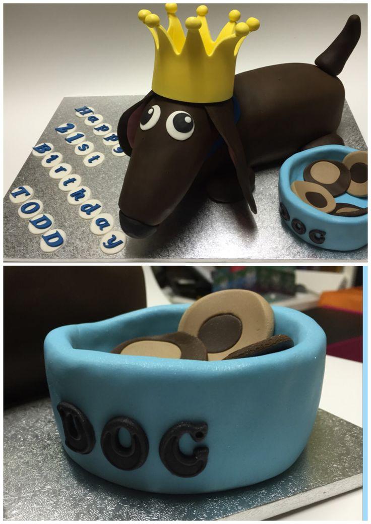 Sausage Dog Cake Decorations : 25+ best Dachshund cake ideas on Pinterest