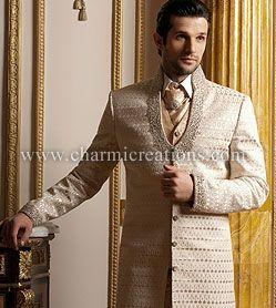 Indian Grooms Fusion Wear Mens Fashion For Weddings Sherwanis Kurtas Jodpuri