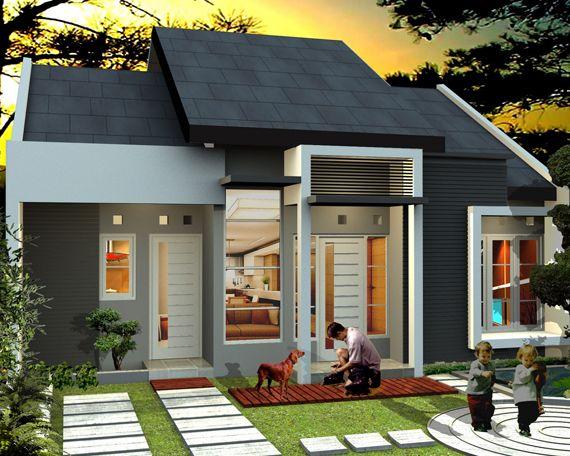 Contoh Model Atap Rumah Minimalis Sederhana 2 Lantai