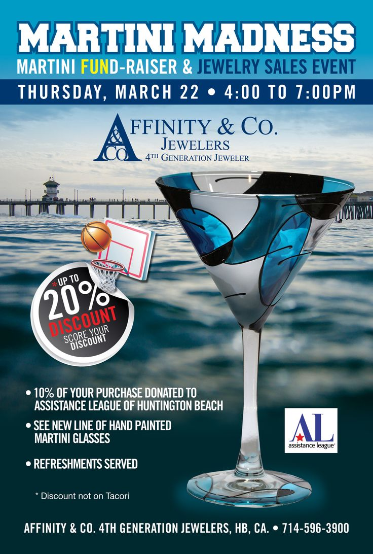 Affinity and Co. Jewelers invites you to a special charity FUNd raising event!