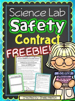 Science Lab Safety Contract FREEBIE! {Great for our littlest learners who are ready to tackle the fun of science experiments!}