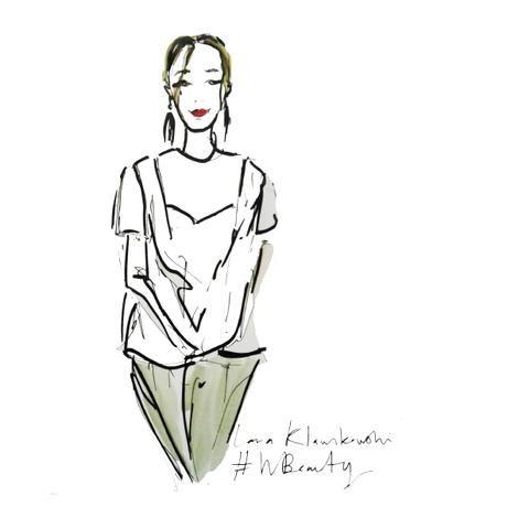LARA KLAWIKOWSKI | ILLUSTRATION | Live Portraits for Woolworths #WBeauty
