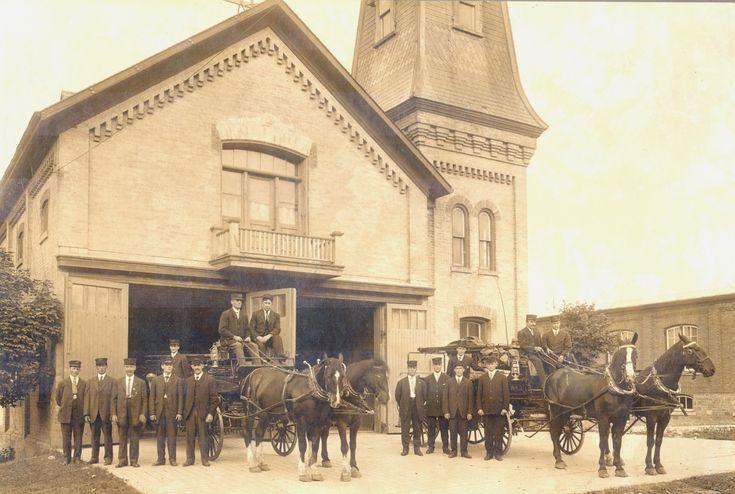 Waterloo Fire Department, 1912